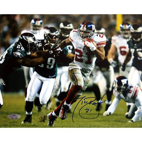 NFL New York Giants Tiki Barber Last Playoff Game Photograph, 16x20-Inch