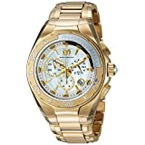 Technomarine Men's 'Manta' Swiss Quartz Stainless Steel Casual Watch, Color:Gold-Toned (Model: TM-215042)