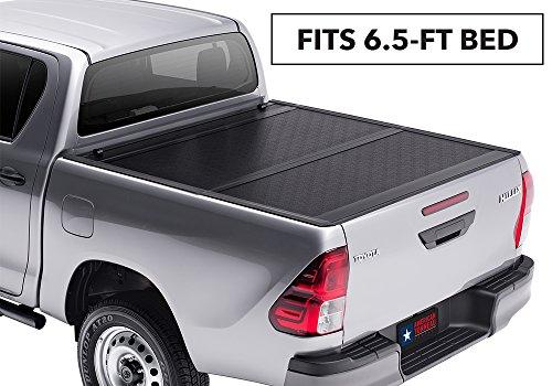 American Tonneau Company AT25010 Hard Bi-Fold Truck Bed Cover 2008-2015 F250/F350 Super Duty Ext/Crew Cab 6.8' Short Bed ()