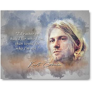 Wall Quote Never Met a Wiseman If so It/'s a Woman! KURT COBAIN