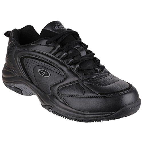 Hi-Tec Mens Blast Lite Lace Up Sneakers (11 US) (Black)
