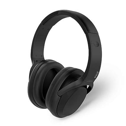 Pyle con cancelación de ruido auriculares con transmisión inalámbrica de Bluetooth – características Indicador LED Luces