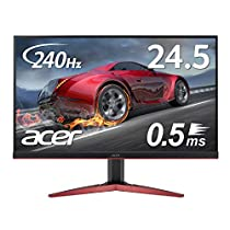 Acer ゲーミングモニター KG251QIbmiipx 24.5型 240hz 0.5...