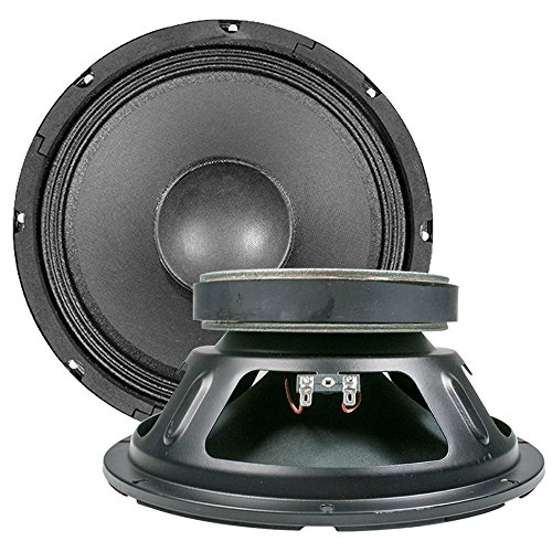 Seismic Audio Quake_10Pair_16ohm Raw Woofers Speakers Drivers Pro Audio PA DJ Replacement, 10-Inch