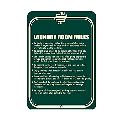 Sar54ryld SIGA Las Reglas: To Achieve Good Laundry Room ...