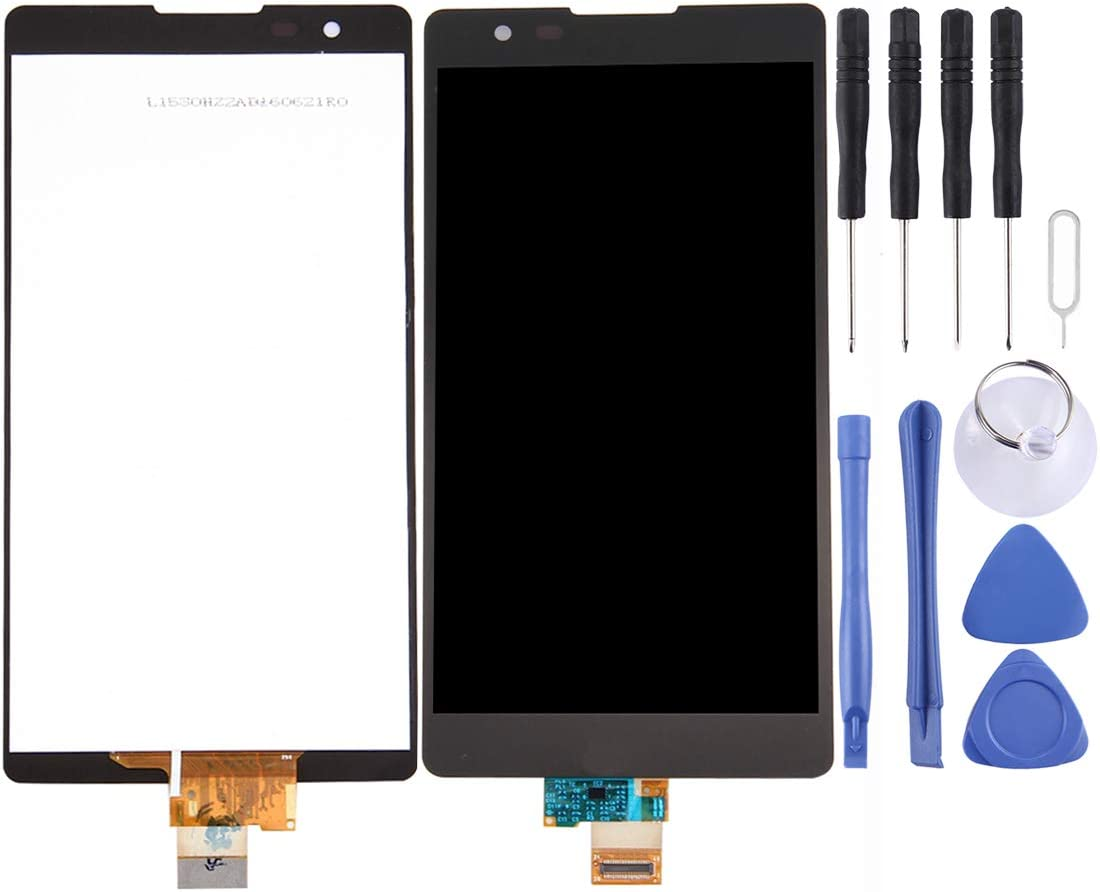FURUMO Black NA Replacement LCD Display +Touch Screen for LG LCD Screen and Digitizer Full Assembly for LG X Power // K210 Color : Black