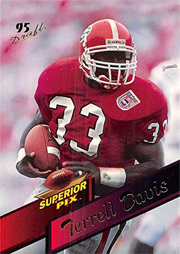 1dad38a6d Terrell Davis football card (Georgia Bulldogs) 1995 Superior Pix ...