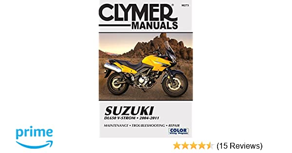 suzuki dl 650 v storm 2004 2009 online service repair manual