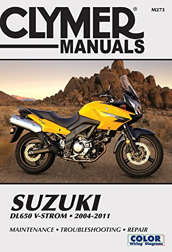 Suzuki DL650 V-Strom 2004-2011 (Clymer Manuals)