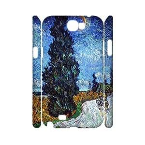 LGLLP Van Gogh Phone case For Samsung Galaxy Note 2 N7100 [Pattern-5]