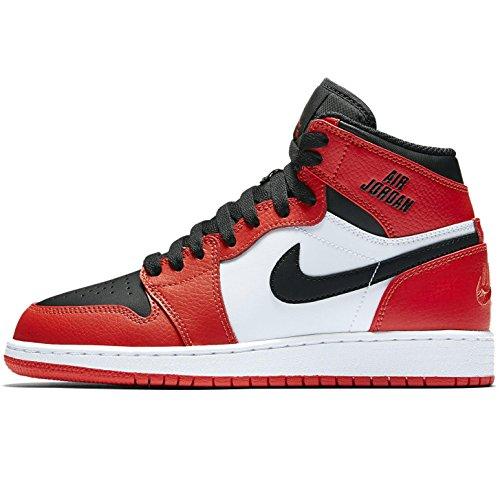 Nike 1 RETRO HIGH BG boys basketball-shoes 705300-800_5.5...