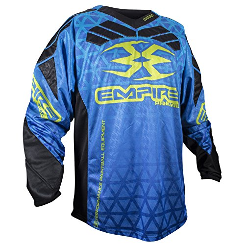 Empire 2016 Prevail F6 Paintball Jersey - Blue - X-Large