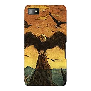 DailyObjects Because They CanFly Case For BlackBerry Z10 (Back Cover)