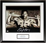 BO JACKSON SIGNED NIKE BO KNOWS 16X20 PHOTO - JSA COA AUTHENTICATED - CUSTOM FRAMED & PLATE