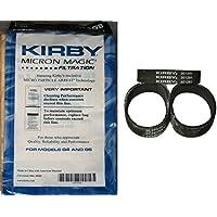 Kirby NEW Bolsas de vacío de 9 micrones G4 y G5 con cinturones