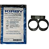 Kirby NEW 9 Micron Vacuum Cleaner Bags G4 & G5 with belts