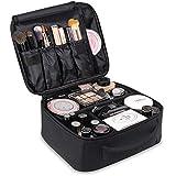 TOPSEFU Professhional large make up Bag makeup case Waterproof Detachable Makeup Organizer Toiletry Cosmetic Bag for Men Women