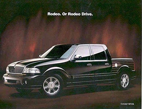 1999 Lincoln Blackwood Pickup Sales Brochure