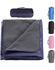 Camping Blanket,Large Picnic Blanket,Sandproof Beach Mat Waterproof Camping Mat Lightweight Child Play Mat for Outdoor Travel Hiking Grass Trips with Portable Carry Bag
