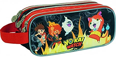 Sportandem Yo Kai Watch Fire Mochila Tipo Casual, 22 cm, Multicolor: Amazon.es: Equipaje