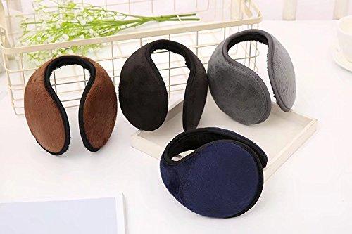 RICISUNG Black Wrap-Around behind Head Style Ear Muffs