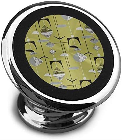 イラスト 携帯電話ホルダー おしゃれ 車載ホルダー 人気 磁気ホルダー 大きな吸引力 サポートフレーム 落下防止 360度回転