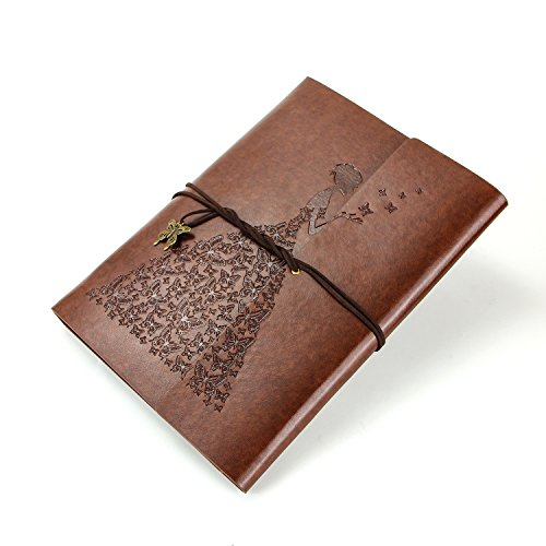 XIUJUAN A5 Leather Journal to Write in,