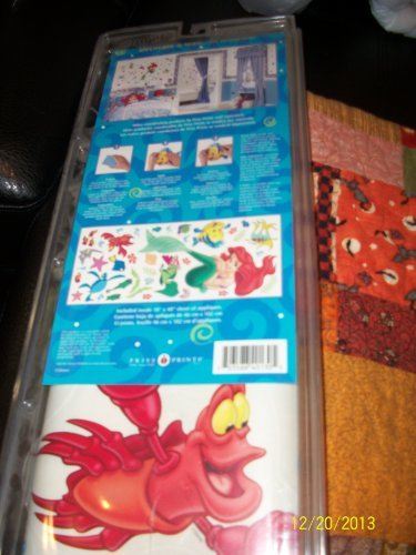 Jumbo Bassinet (The Little Mermaid Jumbo Stick-Ups Super Value Bonus Pack 18x40 sheet by Priss Prints)