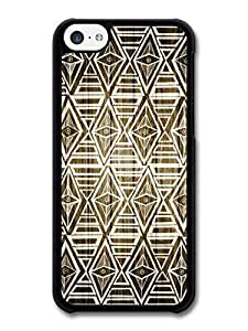 MMZ DIY PHONE CASEAMAF ? Accessories Aztec Geometric Pattern Wood case for iphone 6 plus 5.5 inch