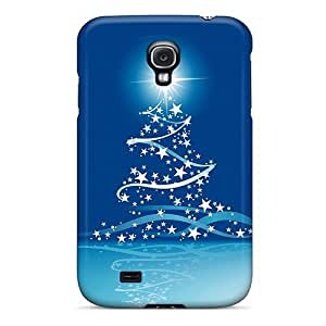 (Qpn1970vVHt)durable Protection Case Cover For Galaxy S4(christmas Tree)