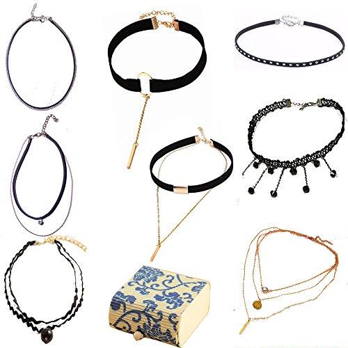 Fashion Elastic Stretch Classic Necklace