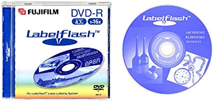 Fujifilm DVD-R 4,7Gb 16x Labelflash Jewel Case 5 Pack - DVD+RW vírgenes (0.74 µm, 10-95%, -5-55 °C): Amazon.es: Informática