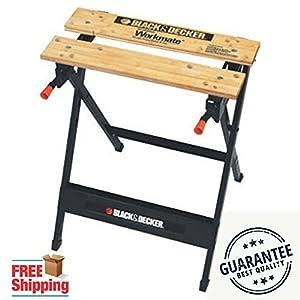 Portable Work Bench Black & Decker WM125 Workmate 125 350-Pound Capacity Indoors