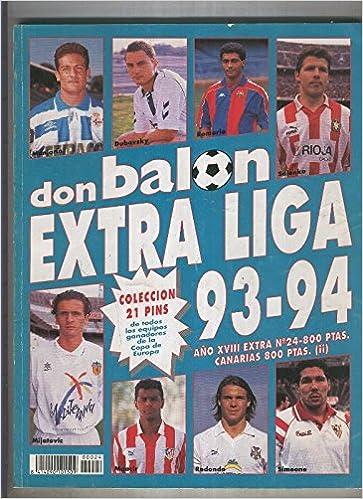 Don Balon extra numero 24: liga 93/94: Amazon.es: Varios: Libros