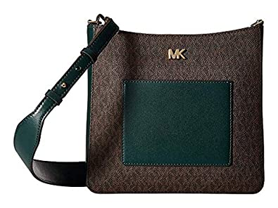 83352a3cd7d9 Image Unavailable. Image not available for. Color  Michael Kors Gloria  Pocket Swing Pack Crossbody Bag ...