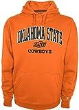 NCAA Oklahoma State Cowboys Men's CBMFA30DVM Pullover Hooded Fleece, Knights Orange, Medium