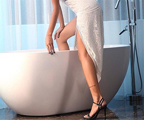 Cavo 7 Discoteca Estate Elegante 40 Primavera Donna Sexy Tacco eur35uk3 Nozze Alto Raso Nero Eur Dimensione Caviglia Scarpe Black uk Cinghia Sandali 35 Diamante Nvxie 42 Stiletto nXAqPxaxS