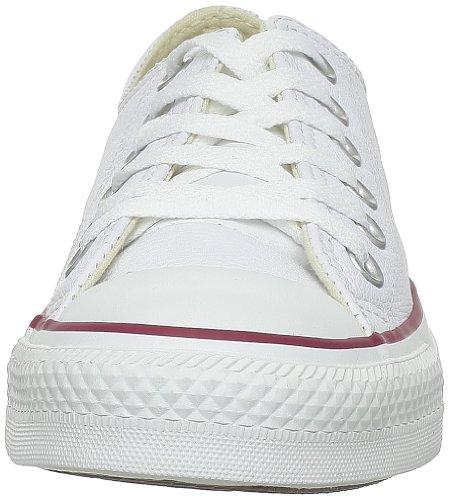 Converse Chuck Taylor Core Lea Ox 246270-55-3 - Zapatillas para mujer Blanc
