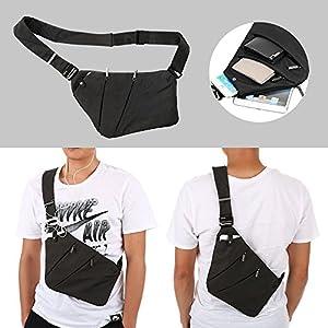 Lixada Sling Backpack Chest Bag Lightweight Outdoor Sport Travel Hiking Anti Theft Crossbody Shoulder Pack Bag Daypack for Men Women