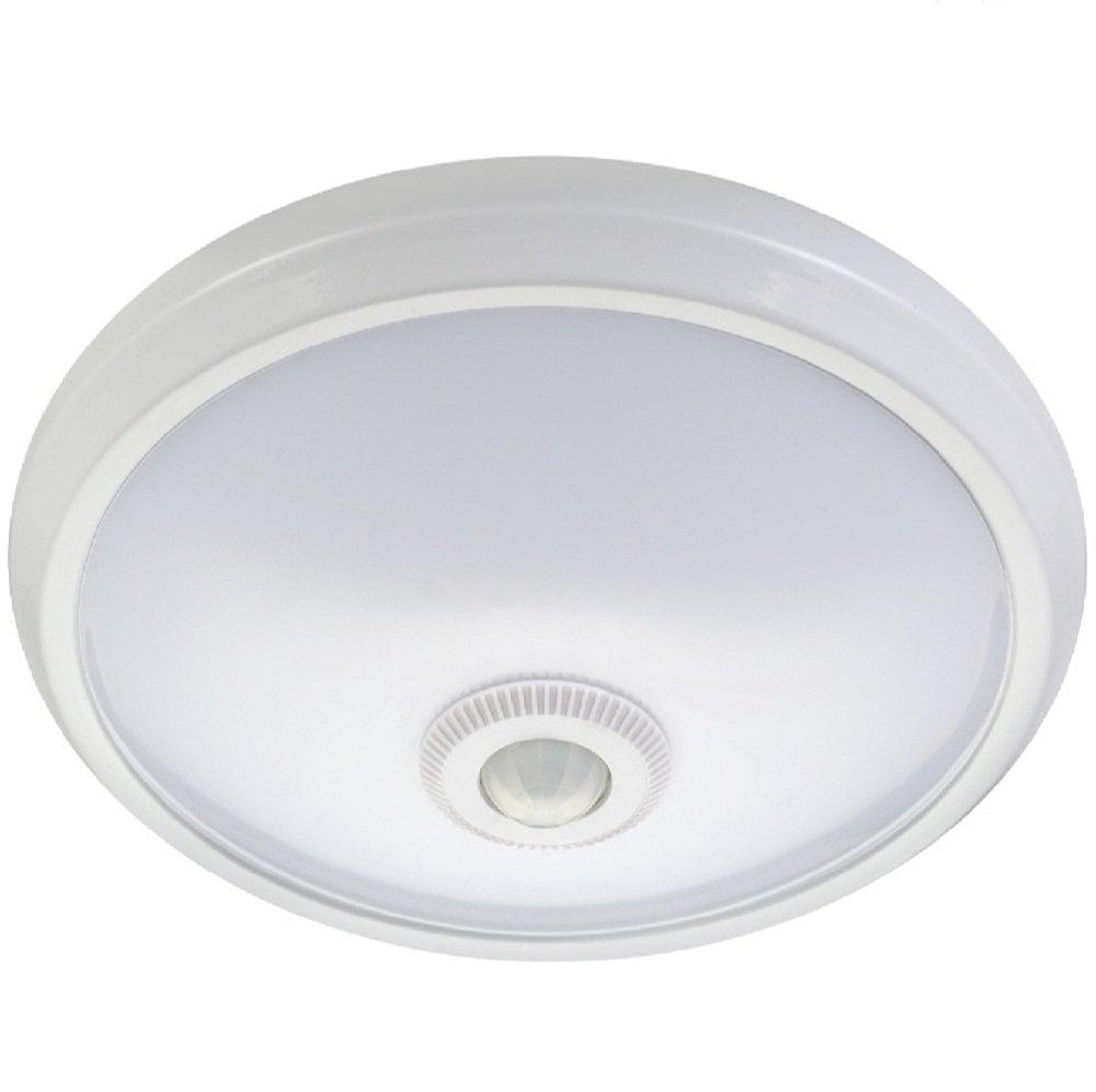 Maclean mce131 ACU Infrarrojos - Lámpara LED de Techo con Detector de Movimiento + Falla: Amazon.es: Hogar