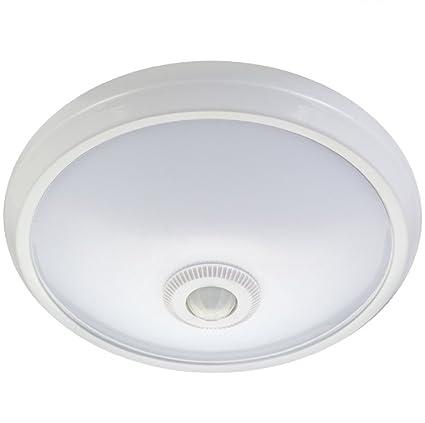 Maclean mce131 ACU Infrarrojos – Lámpara LED de Techo con Detector de Movimiento + Falla