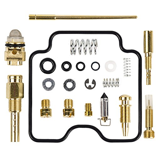 HIFROM Carburetor Rebuild Kit Carb Repair for Suzuki LTZ400 LTZ 400 Z400 2003-2008 (2003 2004 2005 2006 2007 2008) 03-221