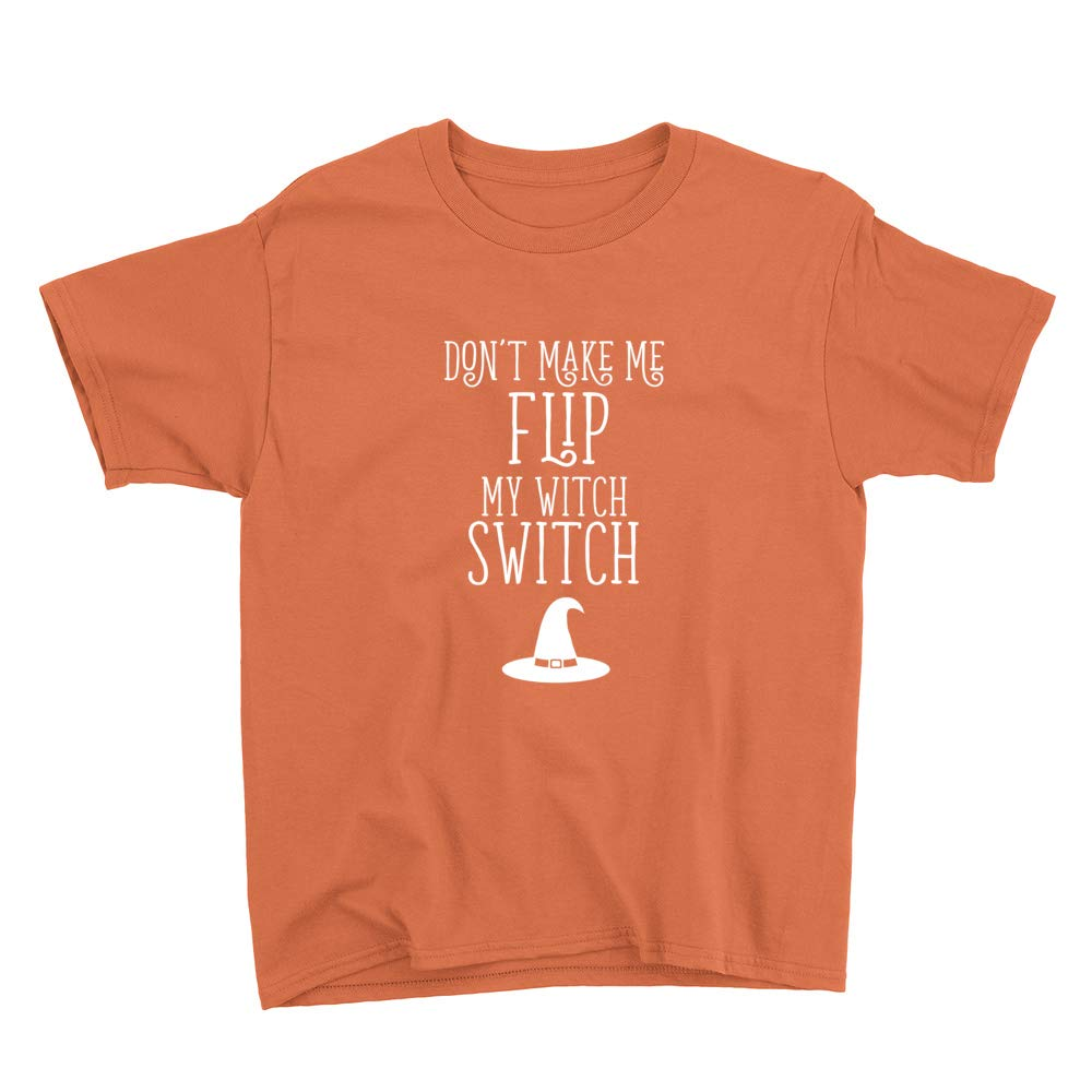 Halloween Flip Witch Switch Youth T-Shirt