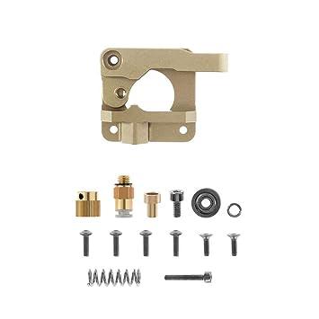 TOOGOO Piezas De La Impresora 3D para Mk8 Cr10 Extrusor Bloque De ...