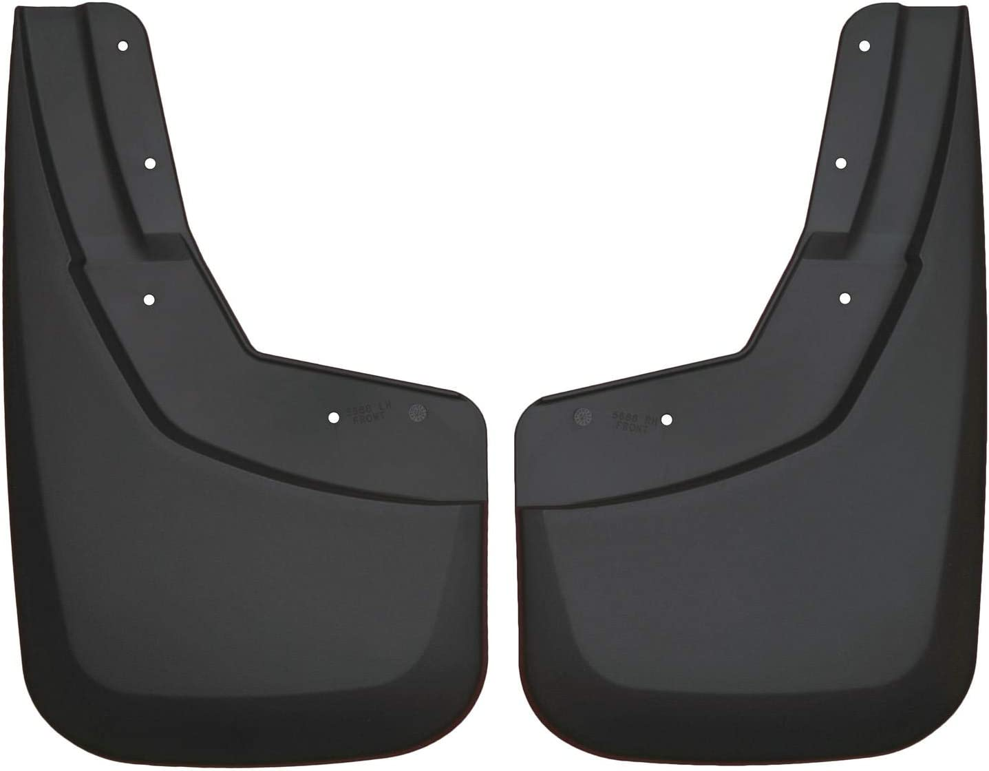 2007-14 GMC Tahoe Husky Liners Fits 2007-14 Cadillac Escalade without Z71 package Custom Front Mud Guards 2007-14 Chevrolet Suburban