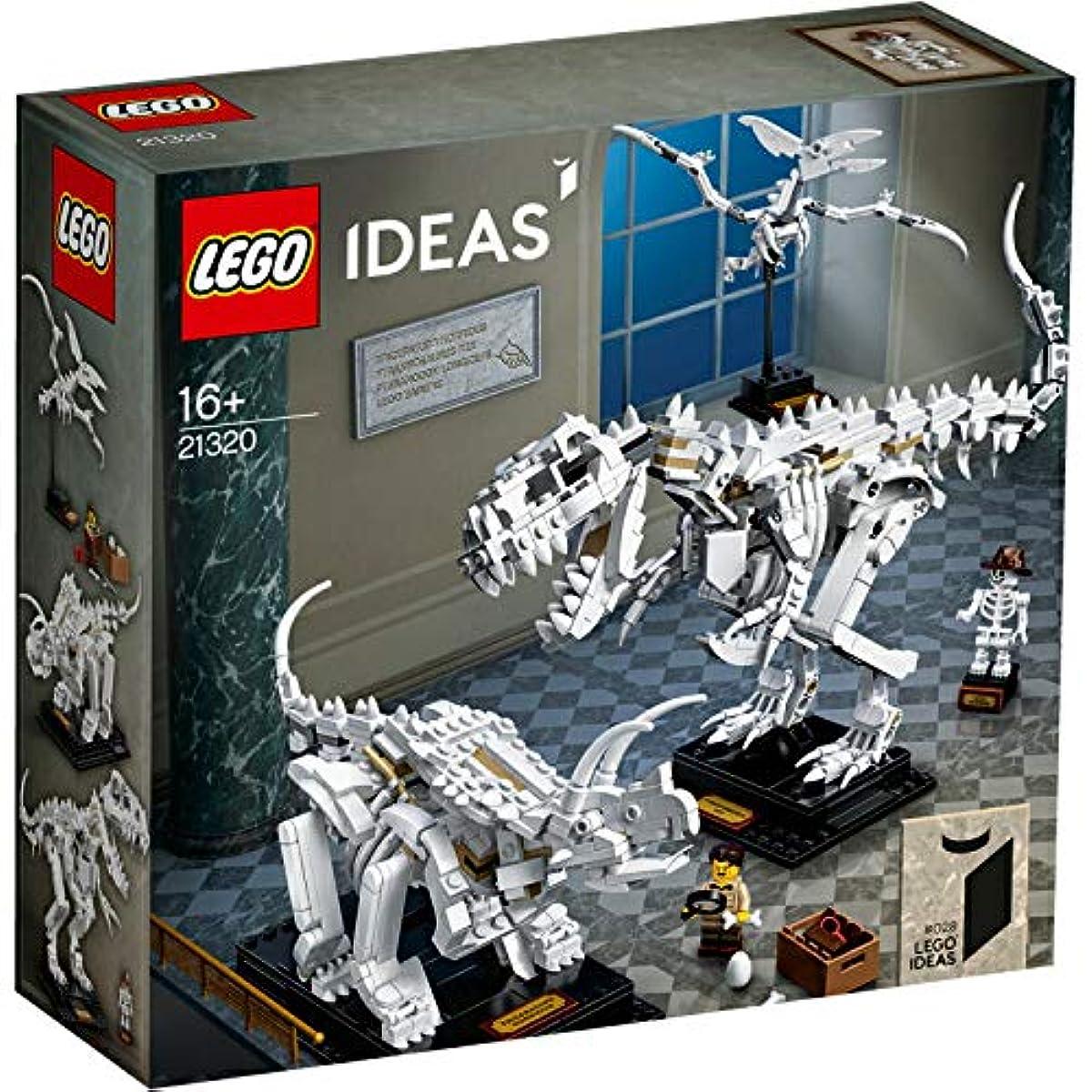 [해외] 레고 (LEGO) LEGO 아이디어 공룡의 화석 21320 일본 국내 유통 정규품