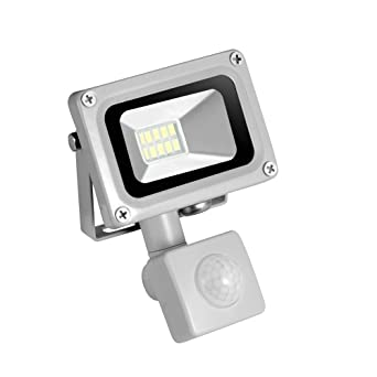 Motion Sensor LED luz de seguridad Floodlight focos led exterior ...