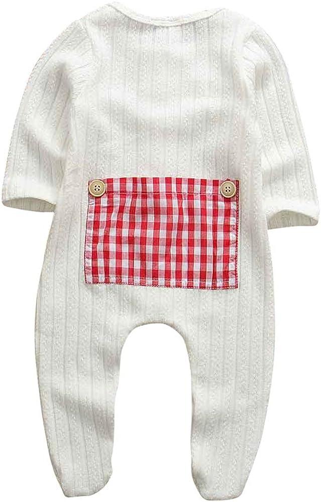 Baby Strampler M/ädchen 0-6 Monate Unisex Babystrampler Kleinkinder Baby Junge Body Schlafanz/üge Babybekleidung Onesie Neugeborene Overall Pyjamas Jumpsuit Outfit Wei/ß