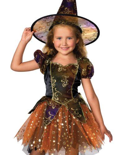 Let's Pretend Child's Elegant Witch Costume