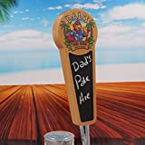 Beer Tap Handle with Chalkboard for